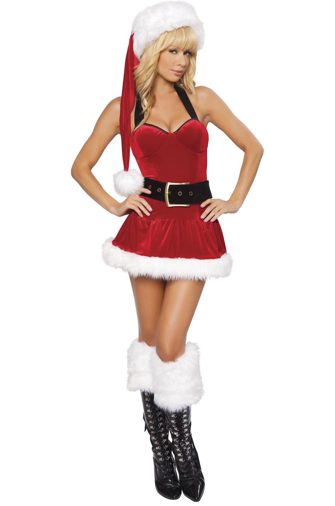 Фото красивых девушек в костюме снегурочки 11 фотография