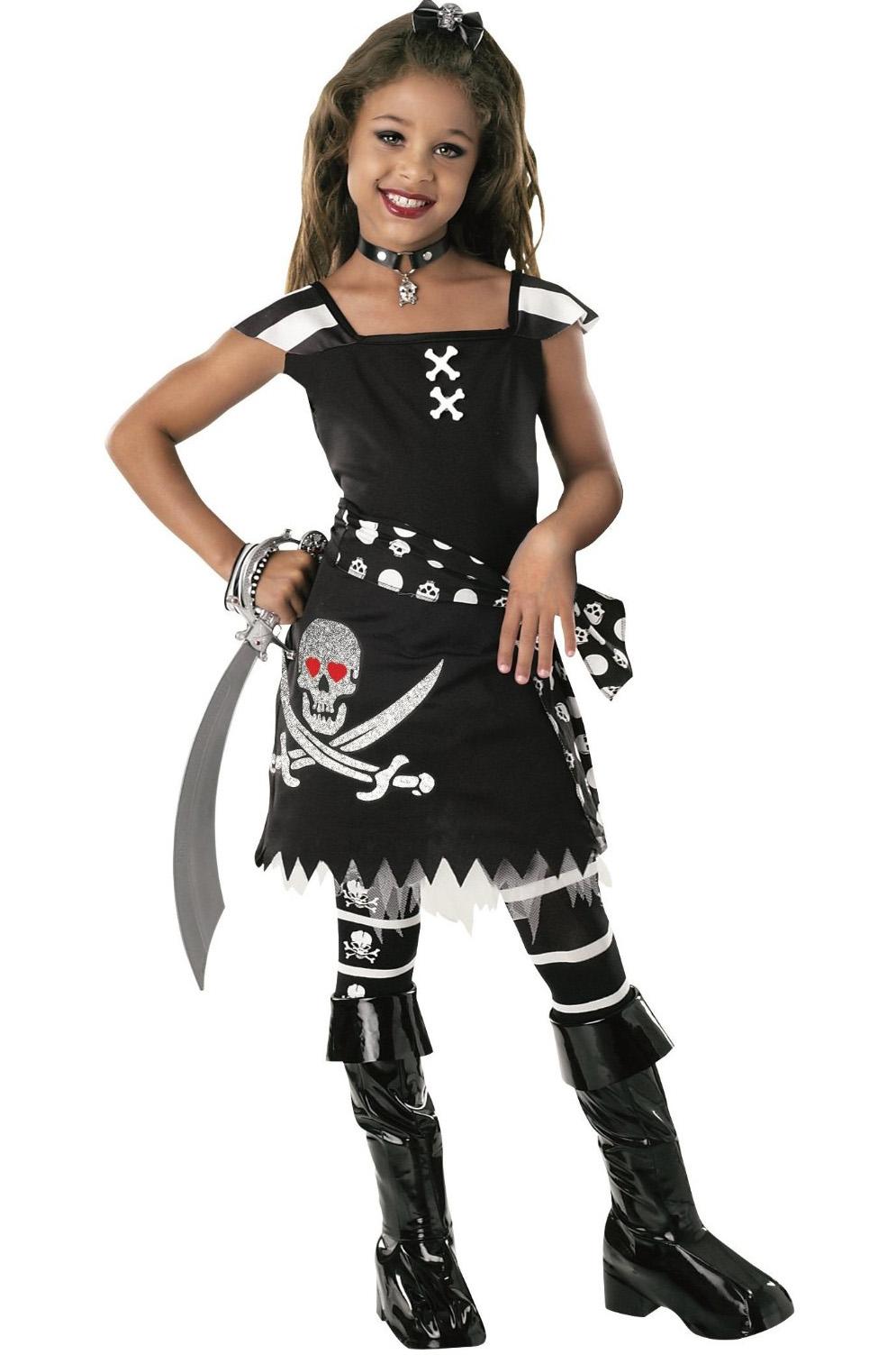 Как сделать костюм для девочки пиратка