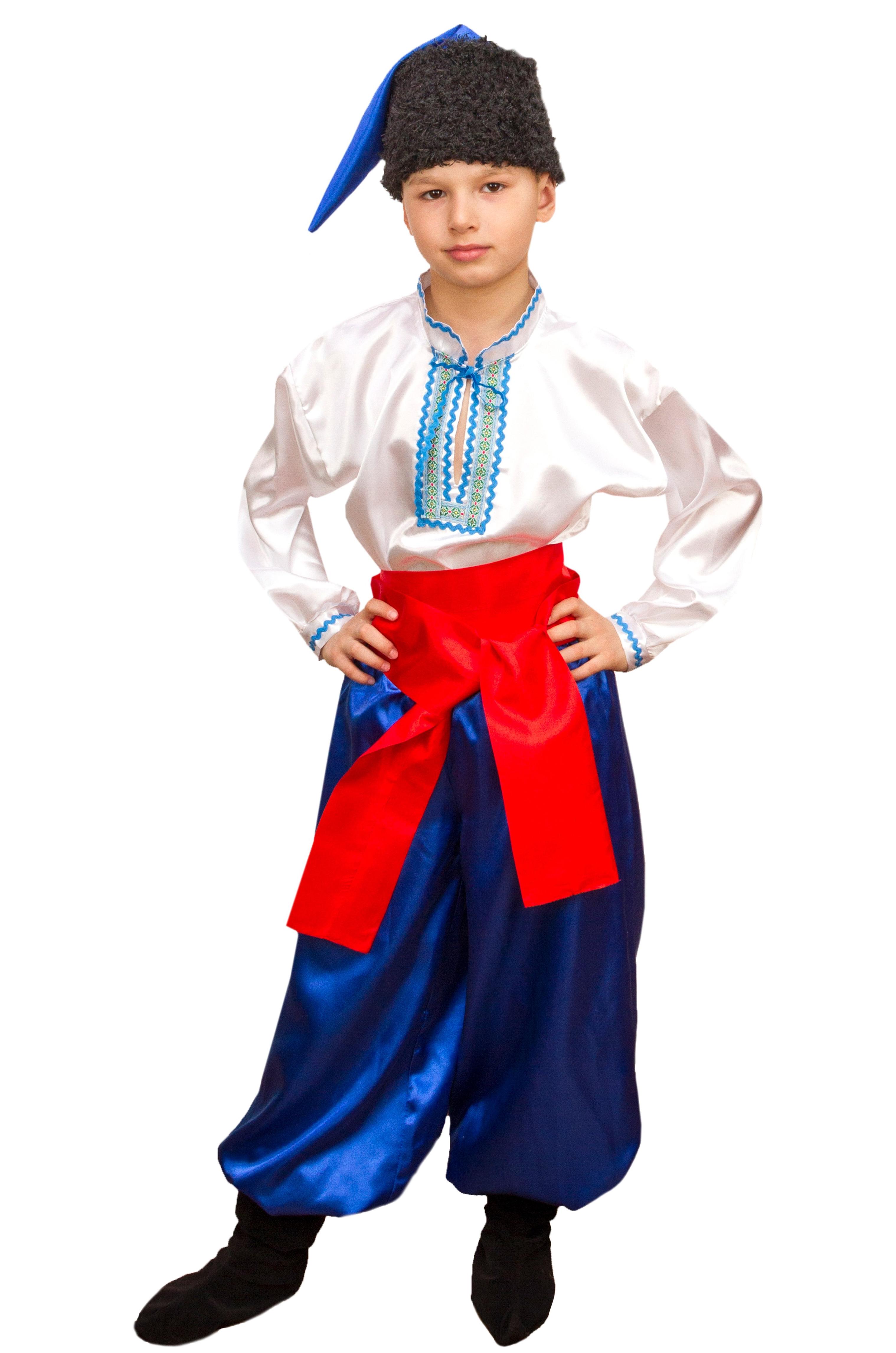 Костюм украинского казака для мальчика фото 214