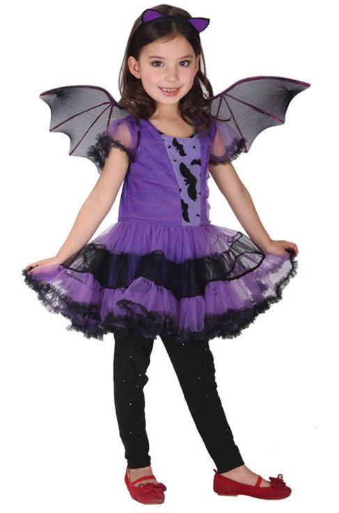 Купить карнавальный костюм для девочки Летучая мышка, цена 3599 руб.