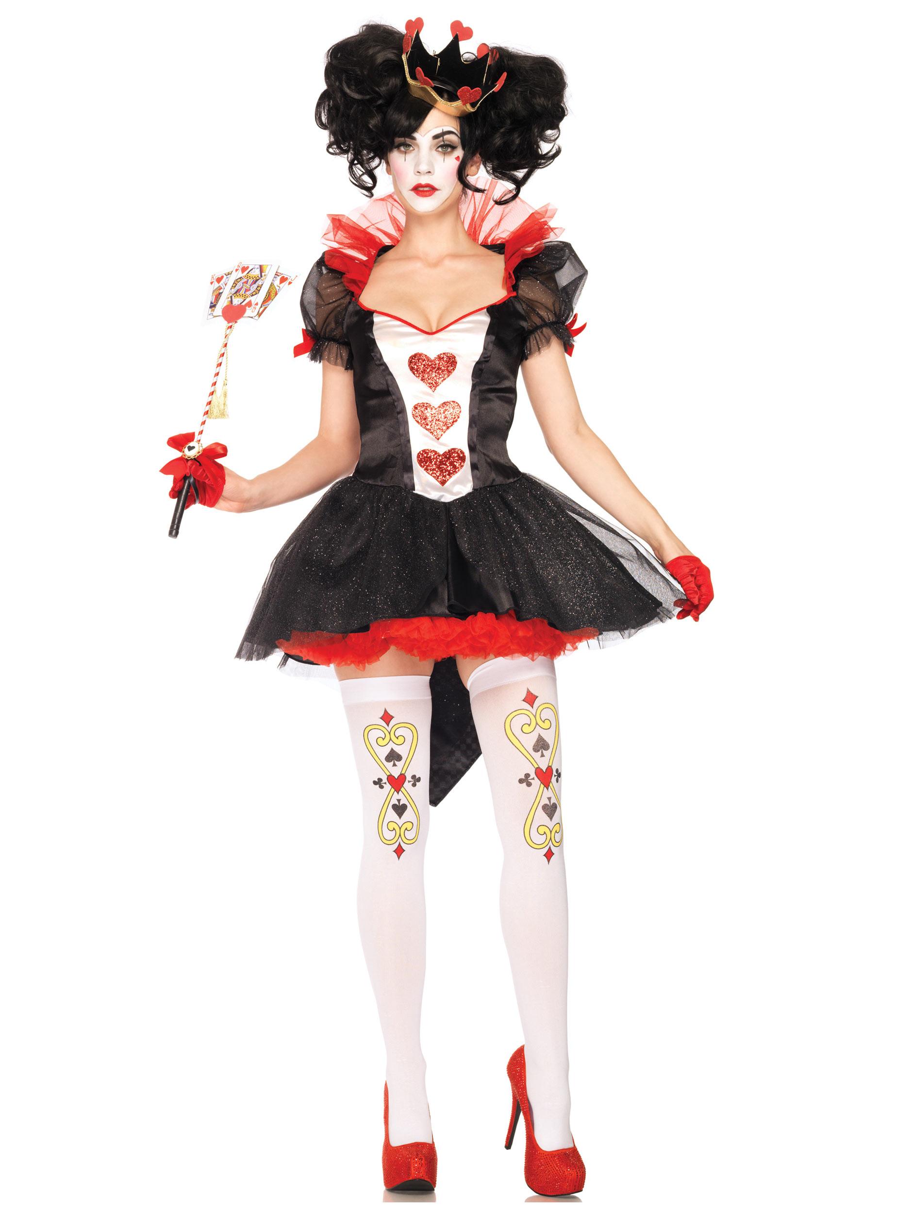 Алиса в стране чудес королева червей костюм