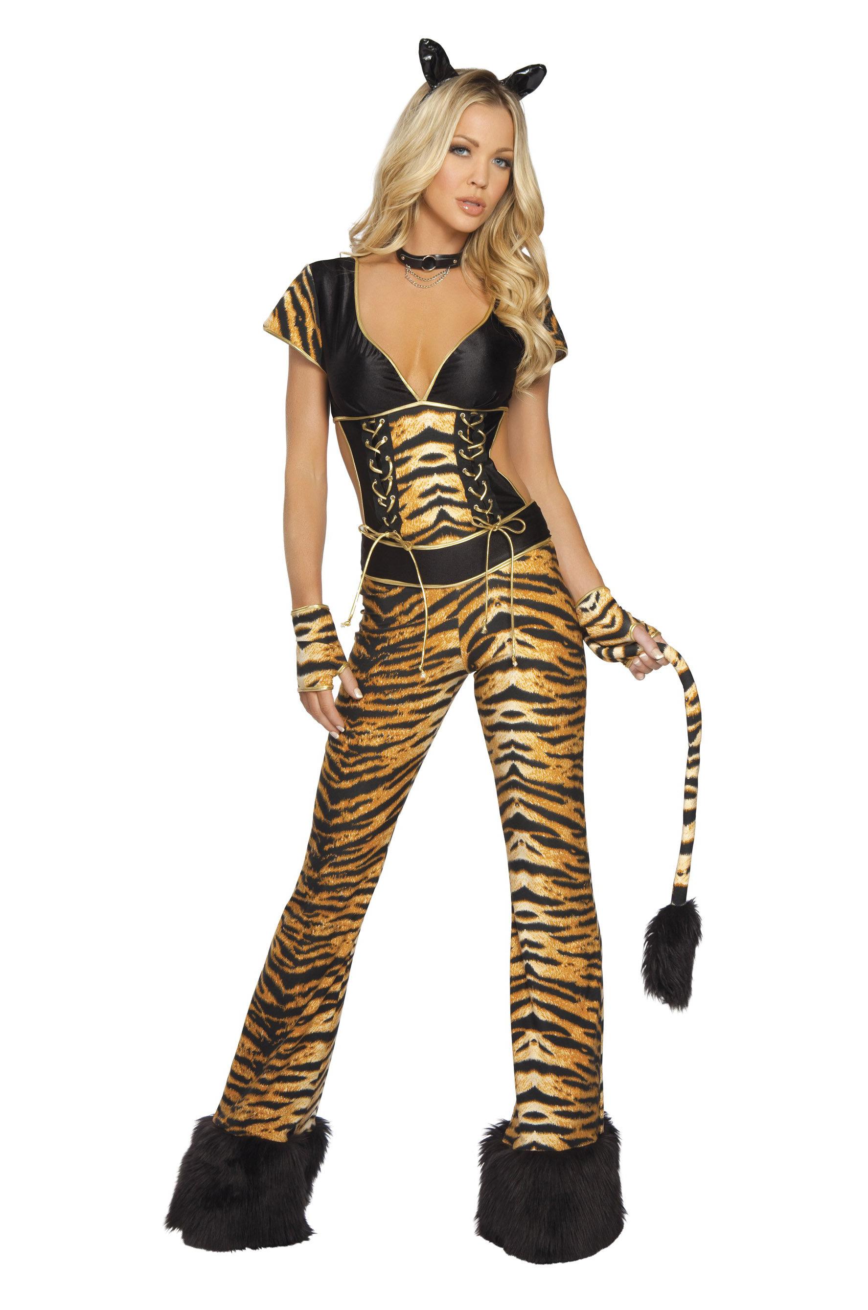 Костюм сексуальной тигрицы фото