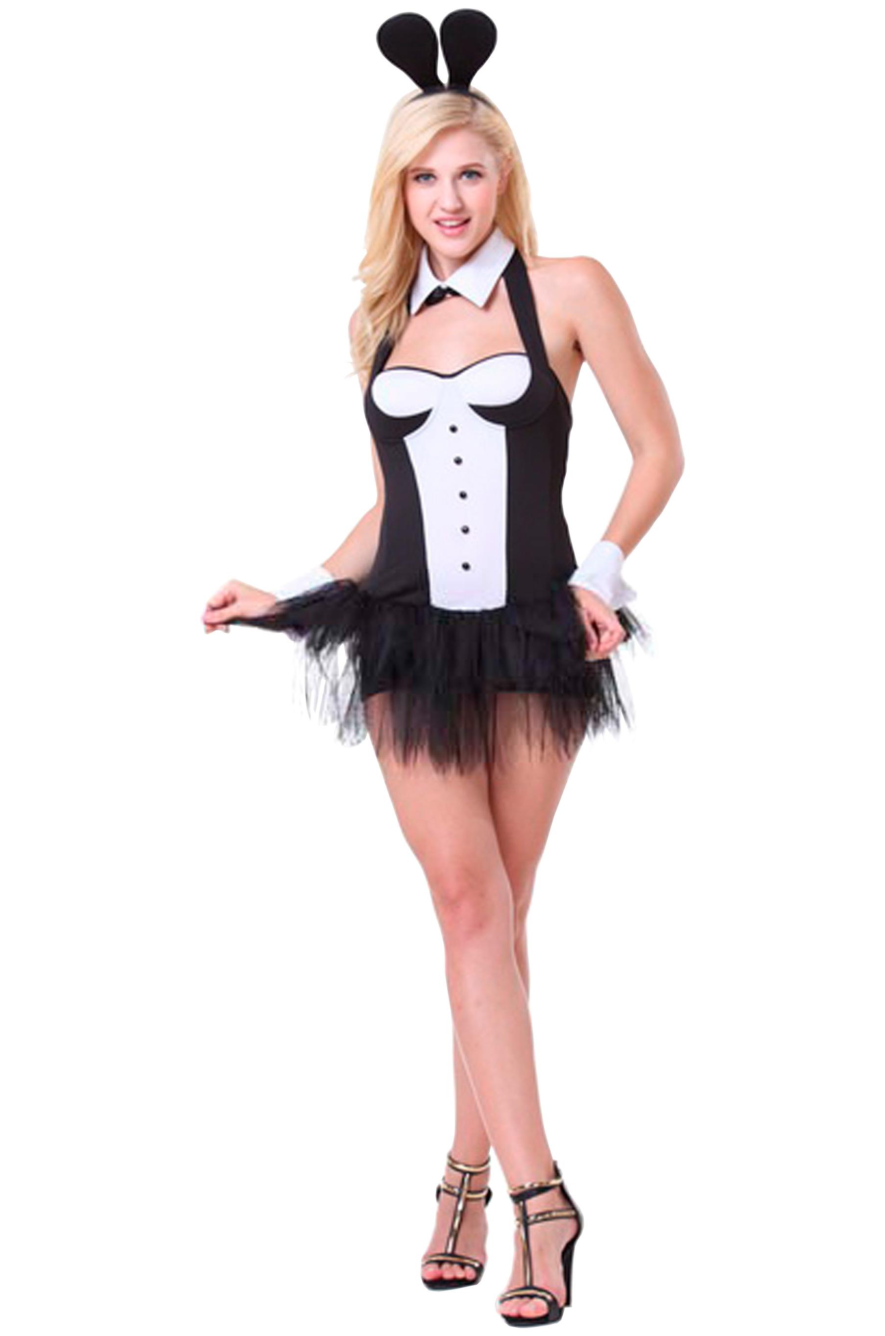 Ретро фото в костюме зайца 9 фотография