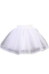 Подъюбники и юбки - Белая юбка трехслойная