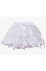 Подъюбники и юбки - Белая юбка