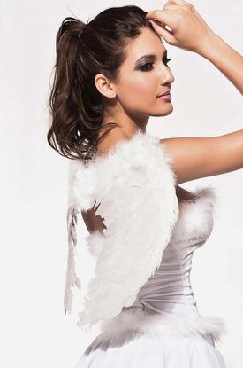 Белоснежные крылья ангела