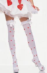 Медсестры - Белые чулки с сердечками