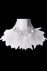 Алисы и Белоснежки - Белый мини-подъюбник