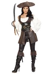 Грим для лица - Бесподобная пиратка