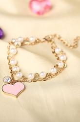 Браслеты и ожерелья - Браслет с сердечком
