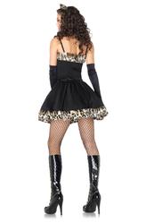 Подъюбники и юбки - Черный леопард