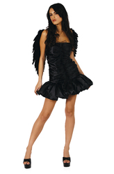 Крылья для костюма - Черный ангел