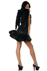 Перчатки и боа - Черный ангел