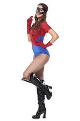 Карнавальные маски - Девушка Человека-паука
