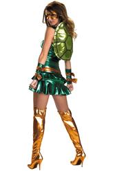 Супергерои - Леди-черепашка Микеланджело