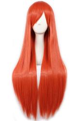 Парики и шляпы - Длинный рыжий парик Хемуры