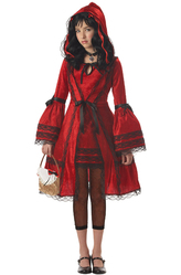 Костюмы для девочек - Костюм Доверчивая Красная шапочка