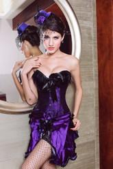Чулки и колготки - Фиолетовая фантазия