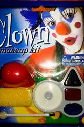 Грим для лица - Грим набор Клоуна с носом