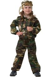 Солдат - Костюм Храбрая военная