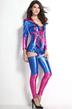 Храбрая женщина-паук в голубом