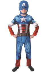 Супергерои - Костюм Храбрый Капитан Америка