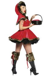 Для костюмов - Игривая красная шапочка