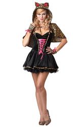 Для костюмов - Игривый леопард
