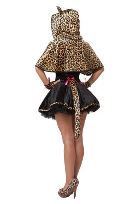 Игривый леопард