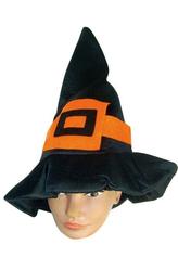 Ведьмы и Дьяволицы - Колпак ведьмы с оранжевой пряжкой