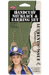 Браслеты и ожерелья - Комплект украшений Полиция