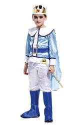 Костюмы для мальчиков - Костюм Король бело-голубой