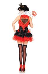 Красная королева - Костюм Королева черных сердец