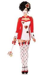 Алиса в Стране чудес - Костюм Королева карт
