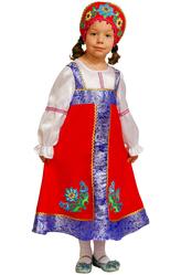 Русские народные - Юная русская красавица