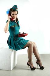 Униформа - Кокетливая девушка МЧС