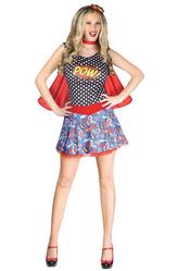Супергерои - Девушка из комиксов
