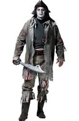 Зомби и Призраки - Костюм Большой призрачный пират плюс