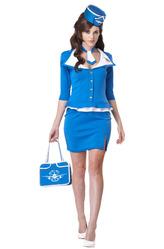 Стюардессы и Капитаны - Строгая стюардесса