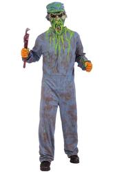 Зомби - Костюм Страшный сантехник-зомби