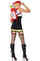 День пожарной охраны - Костюм Вспыльчивая пожарная