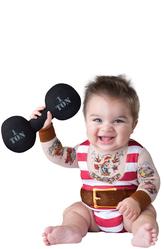 Костюмы для малышей - Юный бодибилдер