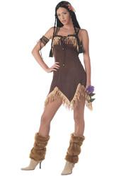 Ковбои и Индейцы - Смелая девушка-индеец