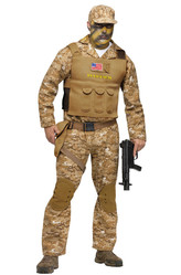 День защитника Отечества - Костюм Боевой спецназовец