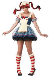 Сказочные персонажи - Кукла Пеппи длинный чулок