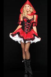 Женские костюмы - Красная шапочка-милашка