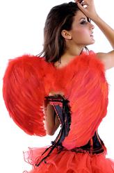 Ангелы и Феи - Красные крылья ангела