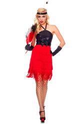 Для костюмов - Красотка кабаре в красном