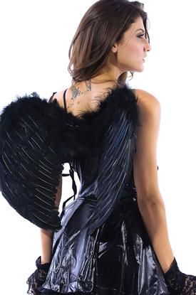 Крылья черного ангелочка