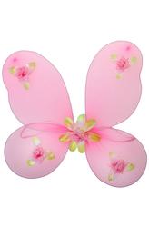 Крылья для костюма - Крылья феи с цветочками